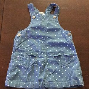Baby girl H&M size 12-18 month overall dress